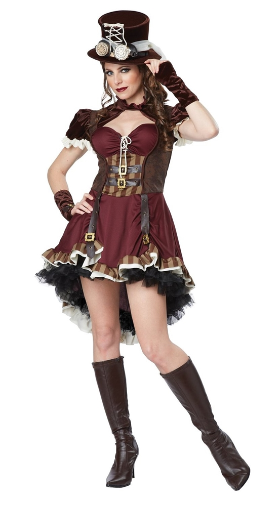 Steampunk Girl Adult Womens Costume
