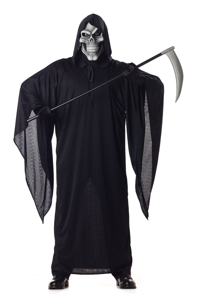 Grim Reaper Adult Mens Plus Size Costume by California Costumes
