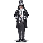 Dark Mad Hatter Adult Mens Plus Size Costume