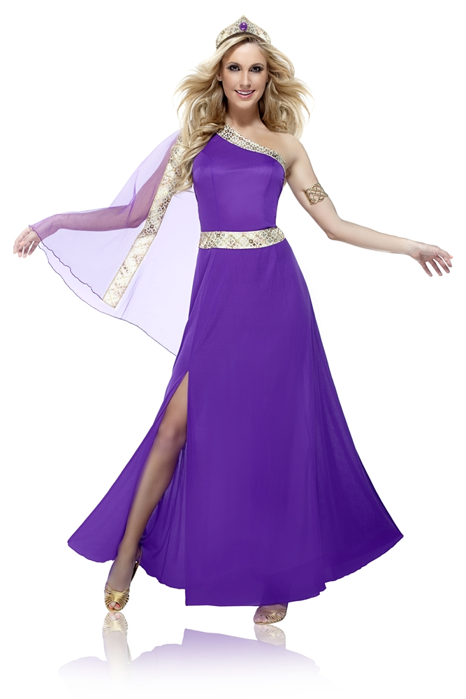 Purple Royal Empress Adult Womens Costume