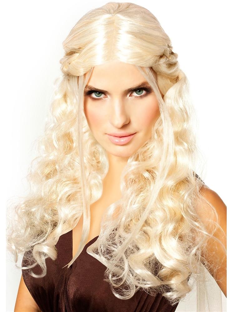 Image of Dragon Princess Platinum Blonde Wig
