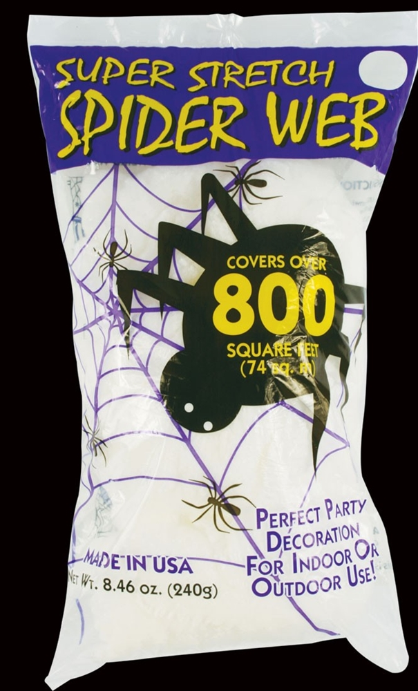 Super Stretch Spiderweb 800 Square Feet