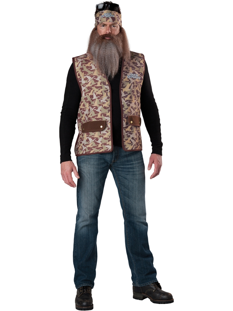 Duck Dynasty Phil Adult Mens Costume