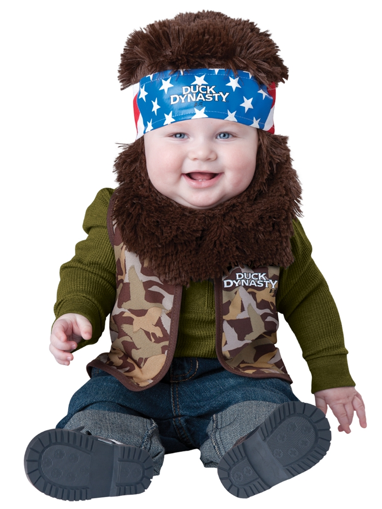 Duck Dynasty Lil' Willie Infant & Toddler Costume