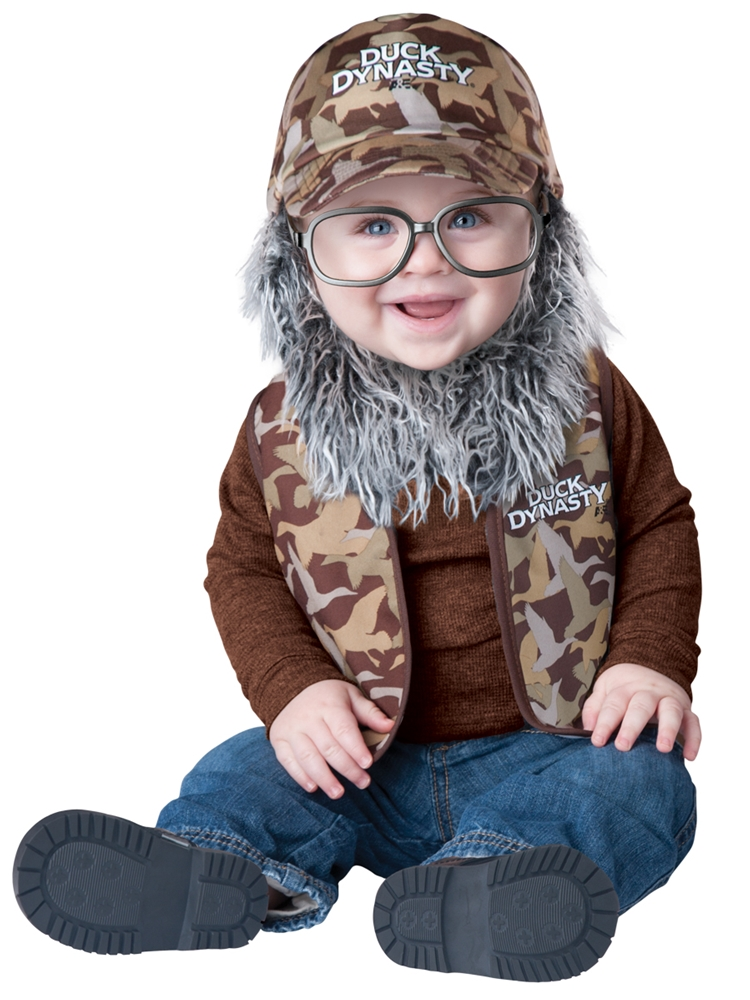 Duck Dynasty Uncle Si Infant Costume