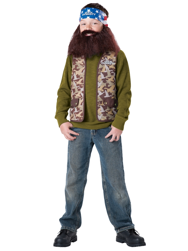 Duck Dynasty Willie Child Costume