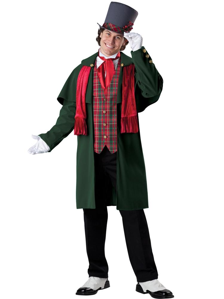 Yuletide Caroling Gent Deluxe Adult Mens Costume