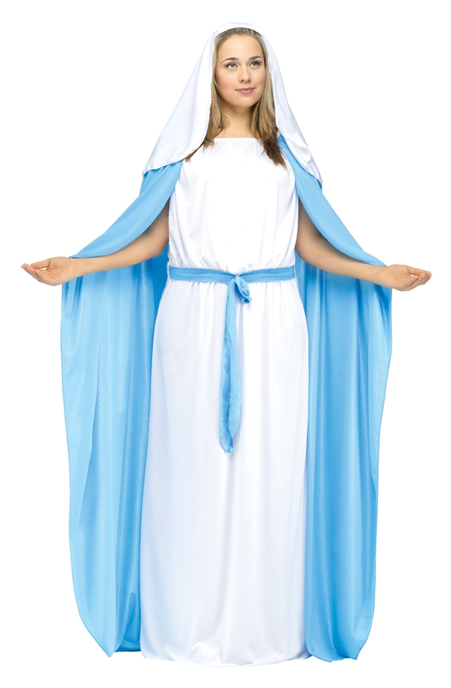 Mary Adult Womens Plus Size Costume
