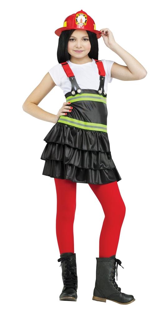 Fire Chief Cutie Girl Child Costume