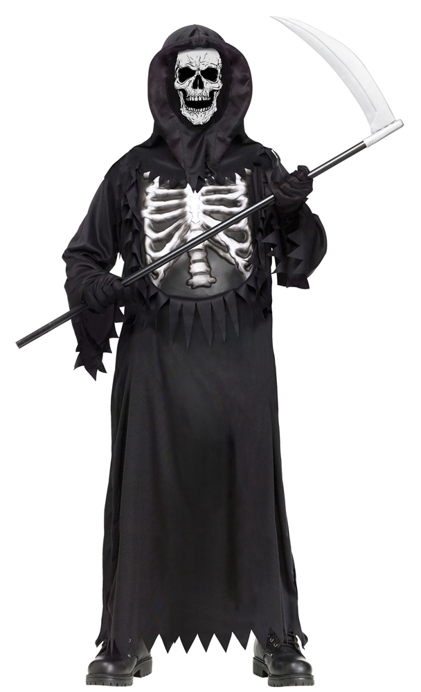 Glowing Chest Reaper Child Costume