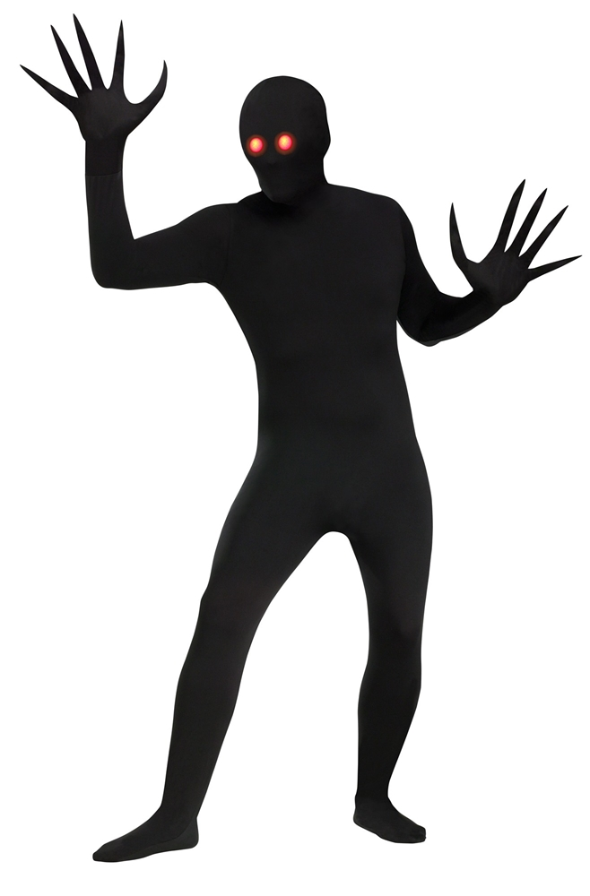Fade Eye Shadow Demon Skin Suit Adult Unisex Costume