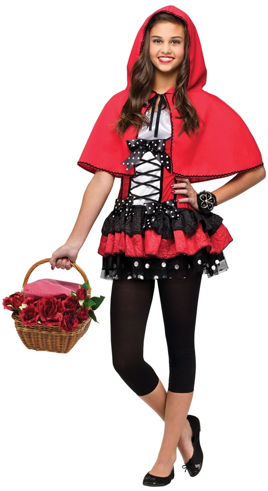 Sweet Red Riding Hood Juniors Costume