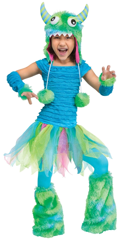 Blue Beastie Toddler & Child Costume