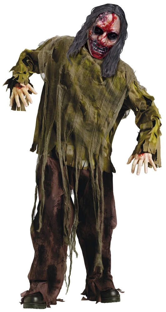 Bleeding Dark Zombie Child Costume