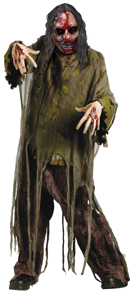 Bleeding Dark Zombie Adult Unisex Costume