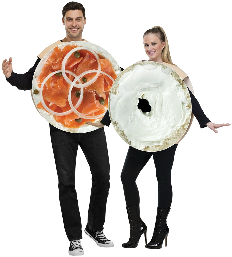 Bagel & Lox Couple Costume