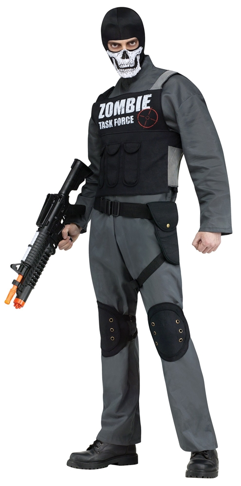 Zombie Task Force Adult Mens Costume
