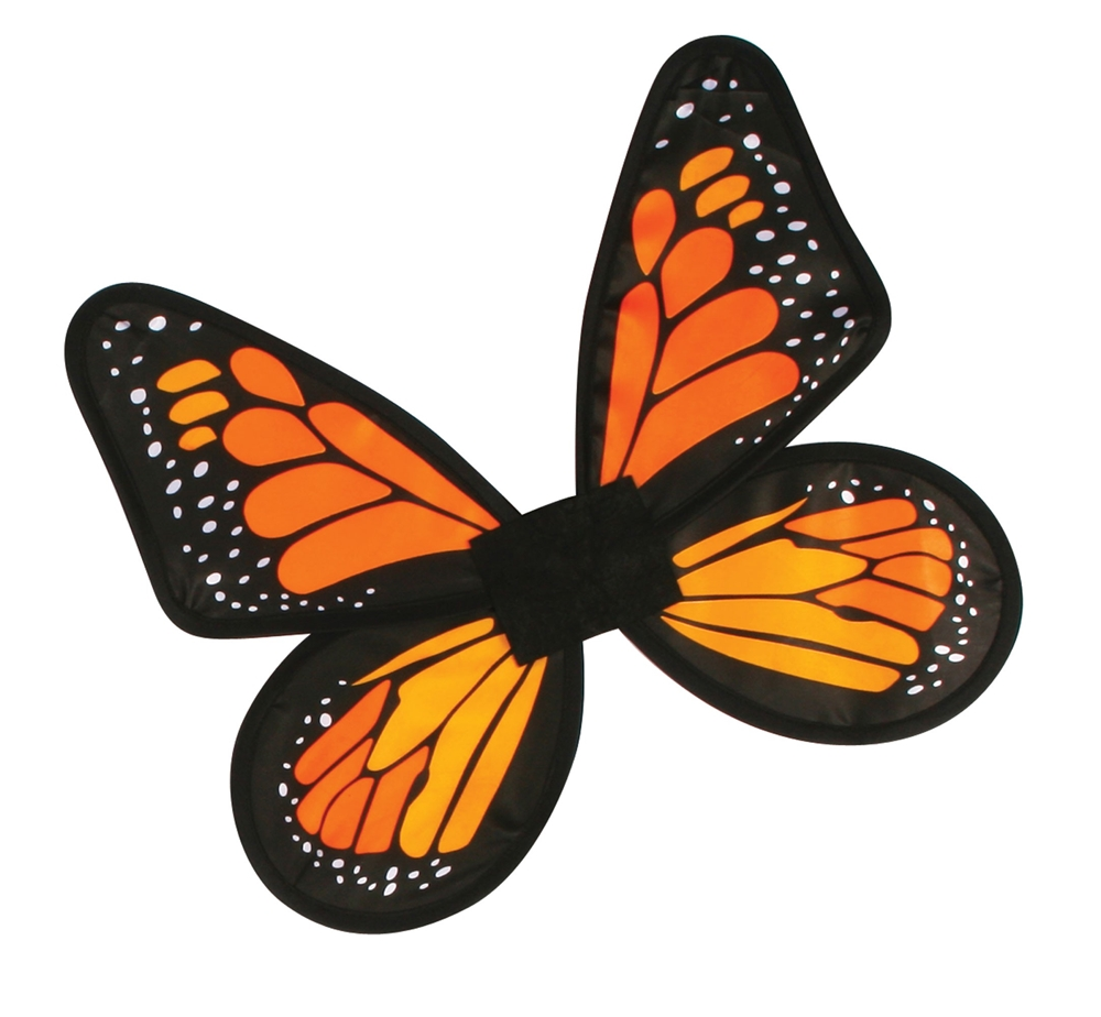 Satin Butterfly Adult Wings (More Colors)