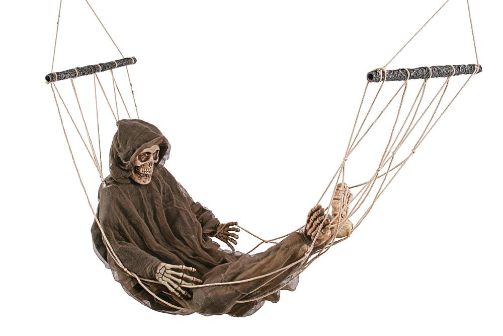 Lazy Bones Reaper in Hammock Prop by Fun World