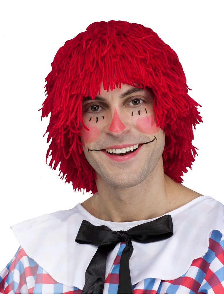 Raggedy Andy Adult Wig