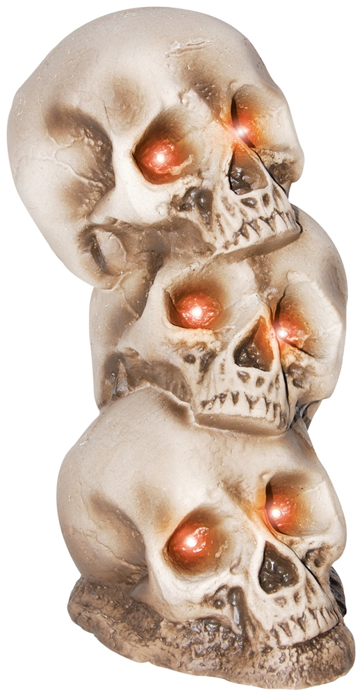Light-Up Skull Pile