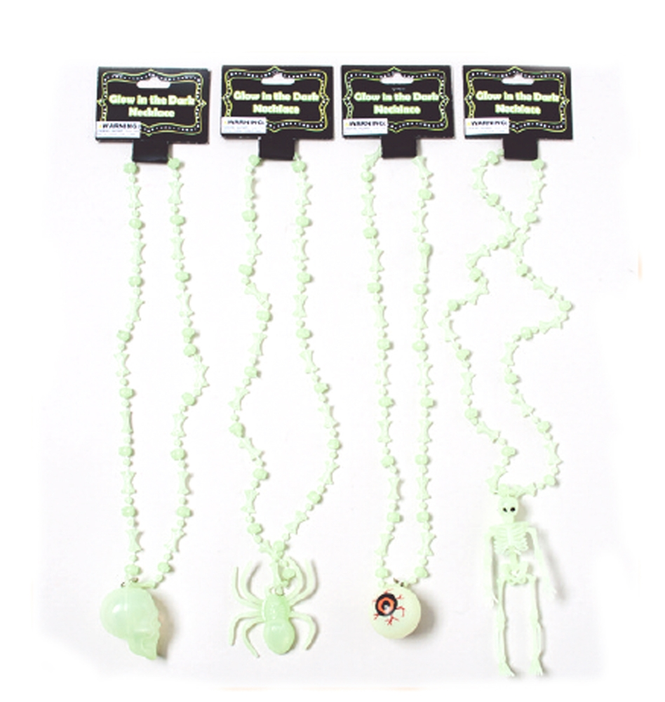 Glow in the Dark Halloween Necklace