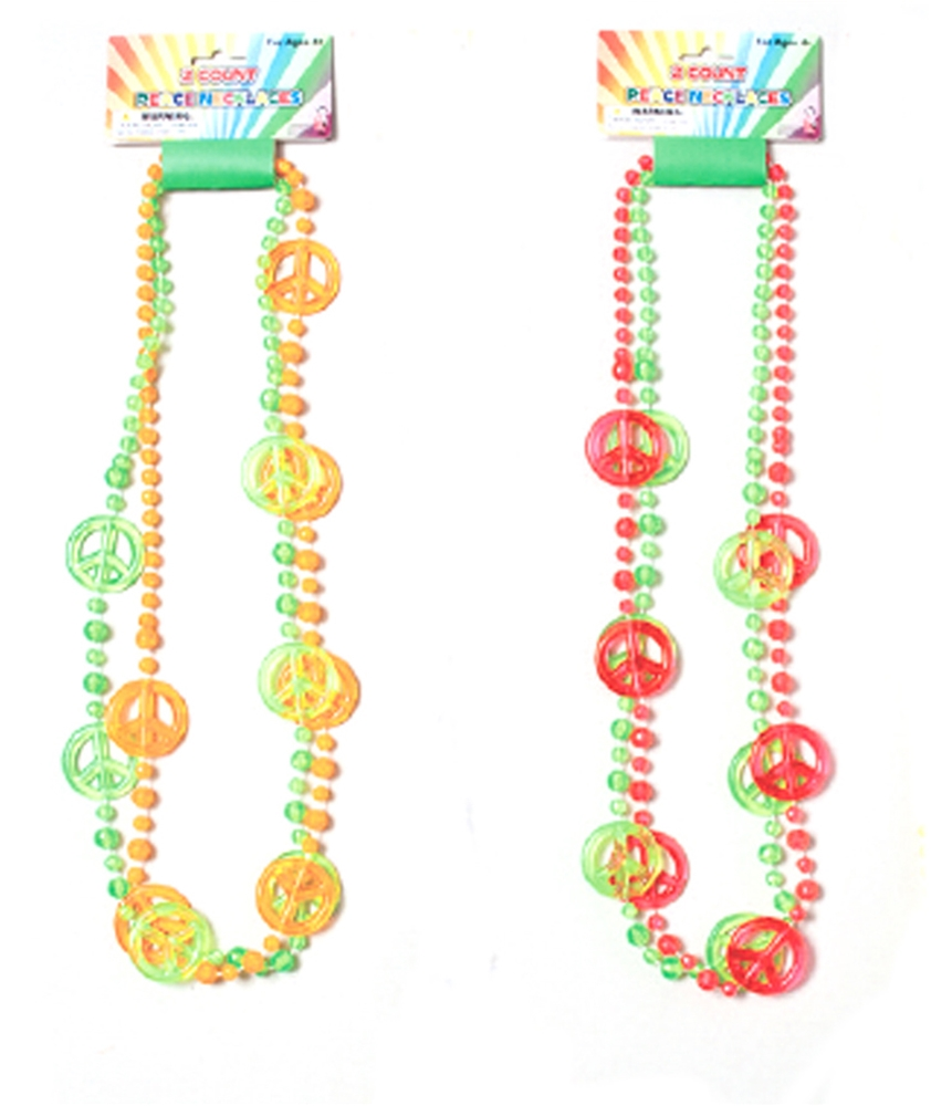 Peace Sign Necklaces 2ct