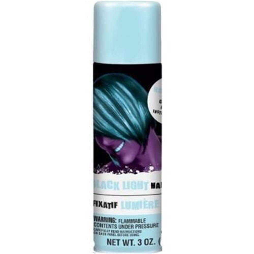 Glows in Black Light Hairspray (Black Light Hairspray)