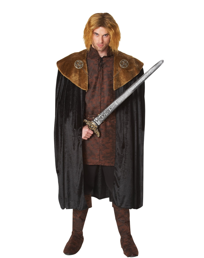 Medieval King Cape with Medallions