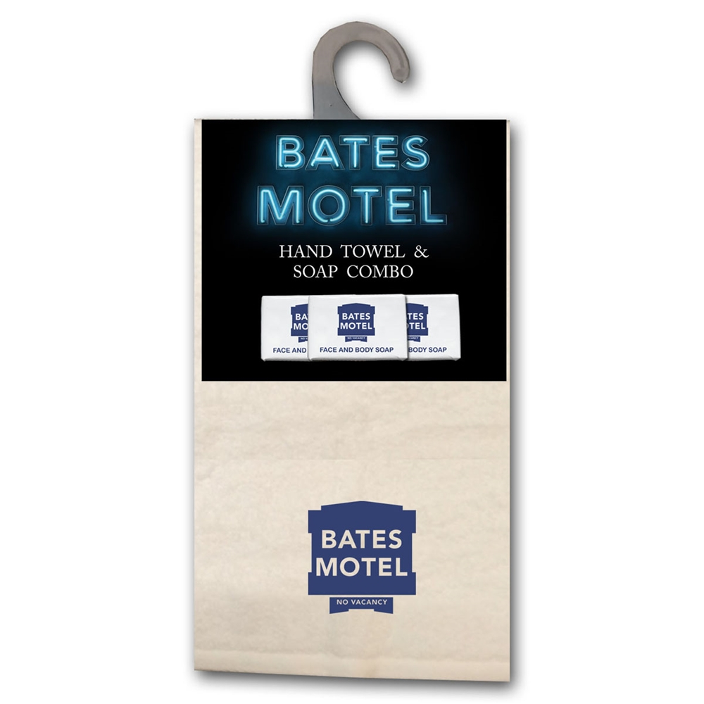 Bates Motel Hand Towel & Soap Combo