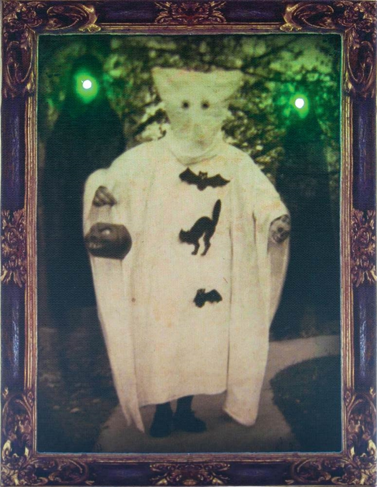 Vintage Ghosts Light-Up Photo