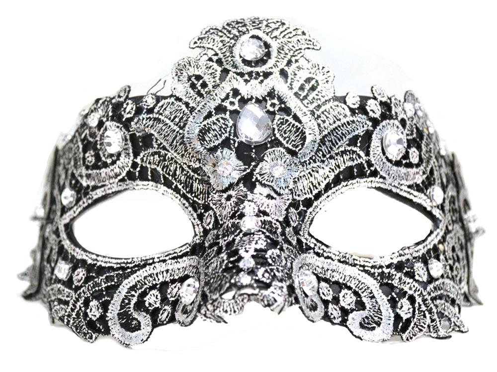 Venetian Lace Mask (More Colors)
