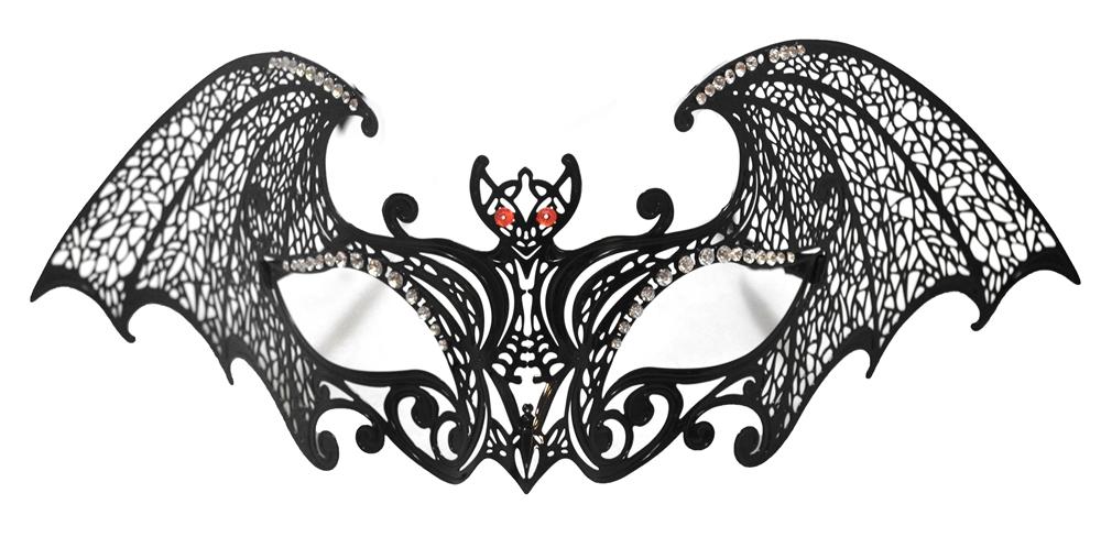 Image of Filigree Metal Bat Eye Mask