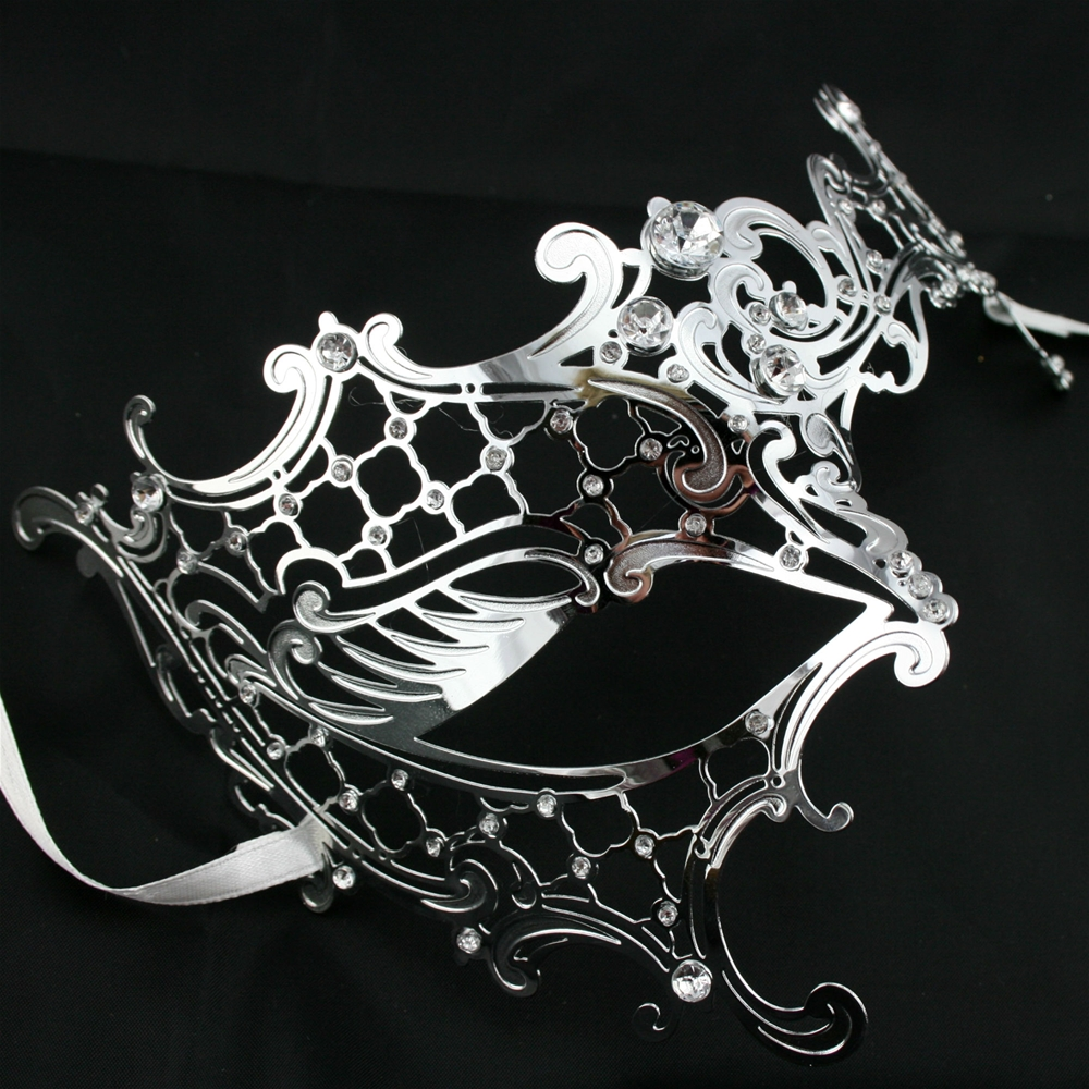 Filigree Metal Swan Eye Mask (More Colors)