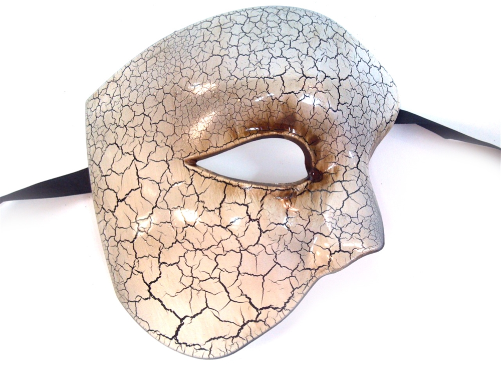 Venetian Phantom Half Mask