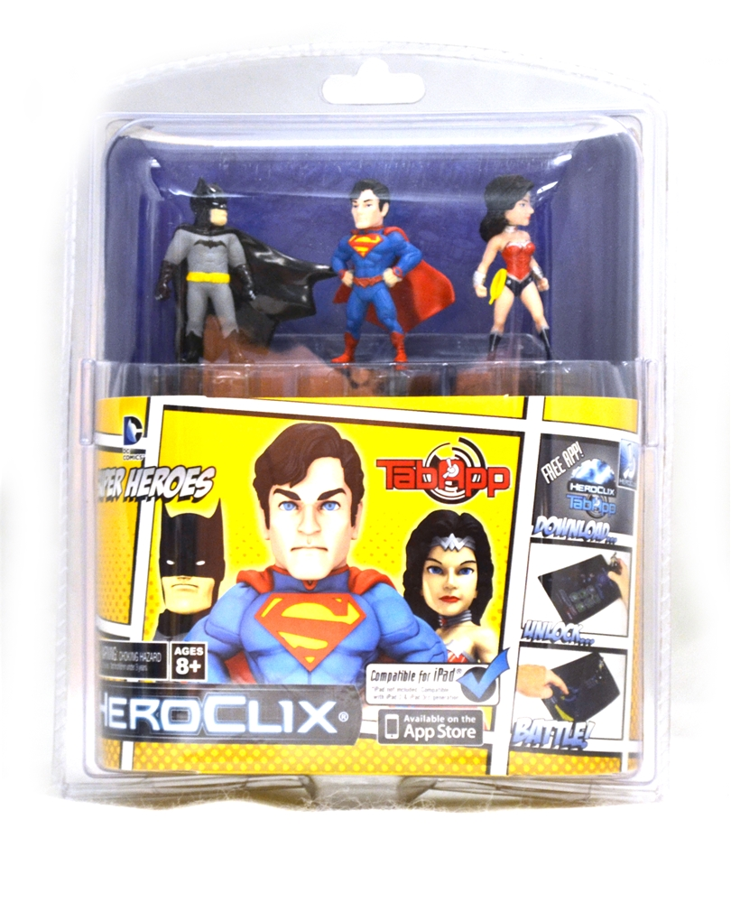 Image of DC Comics Superheroes HeroClix Set