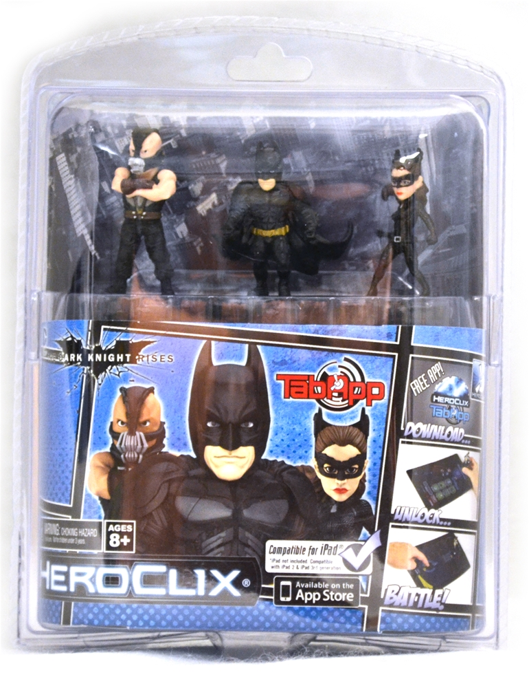 Купить The Dark Knight Rises HeroClix Set