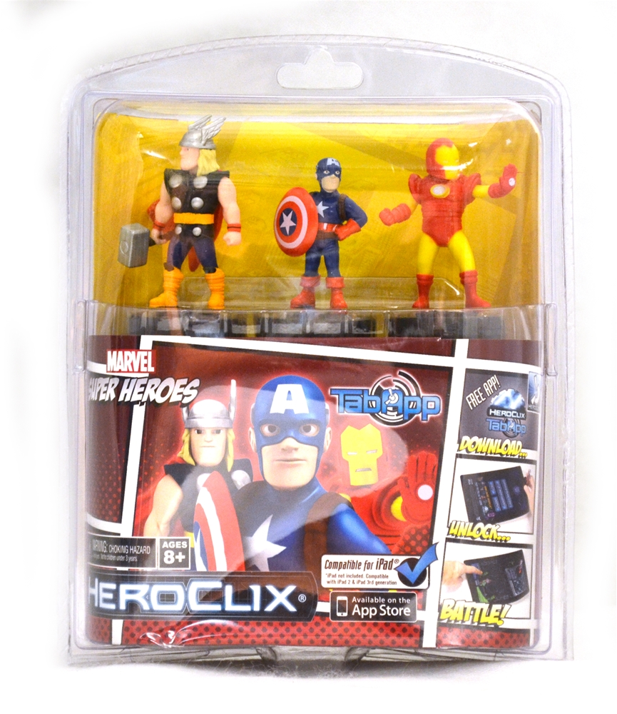 Marvel Superheroes HeroClix Set