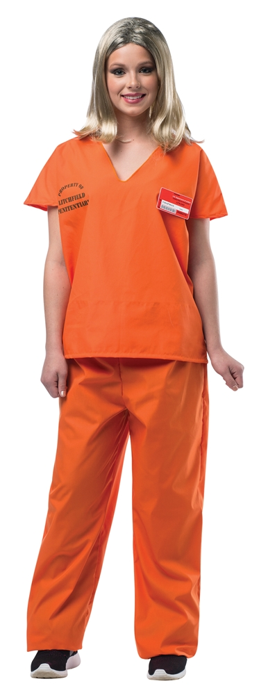 Womens Prison Piper Adult Womens Costume by Rasta Imposta