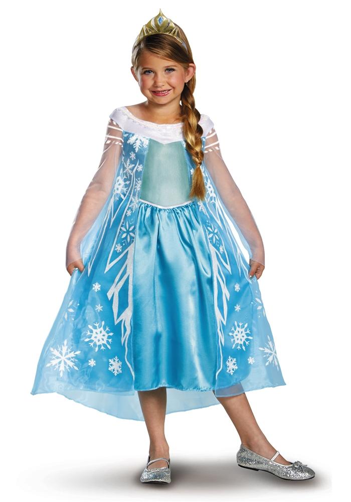 Elsa Deluxe Tween Costume (Tween Elsa Costume)