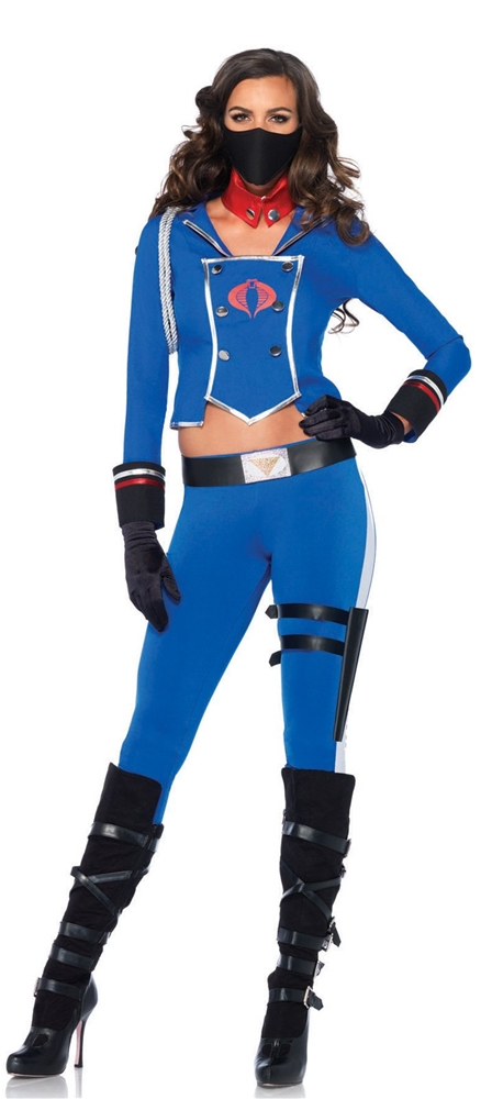 G.I. Joe Cobra Girl Adult Womens Costume