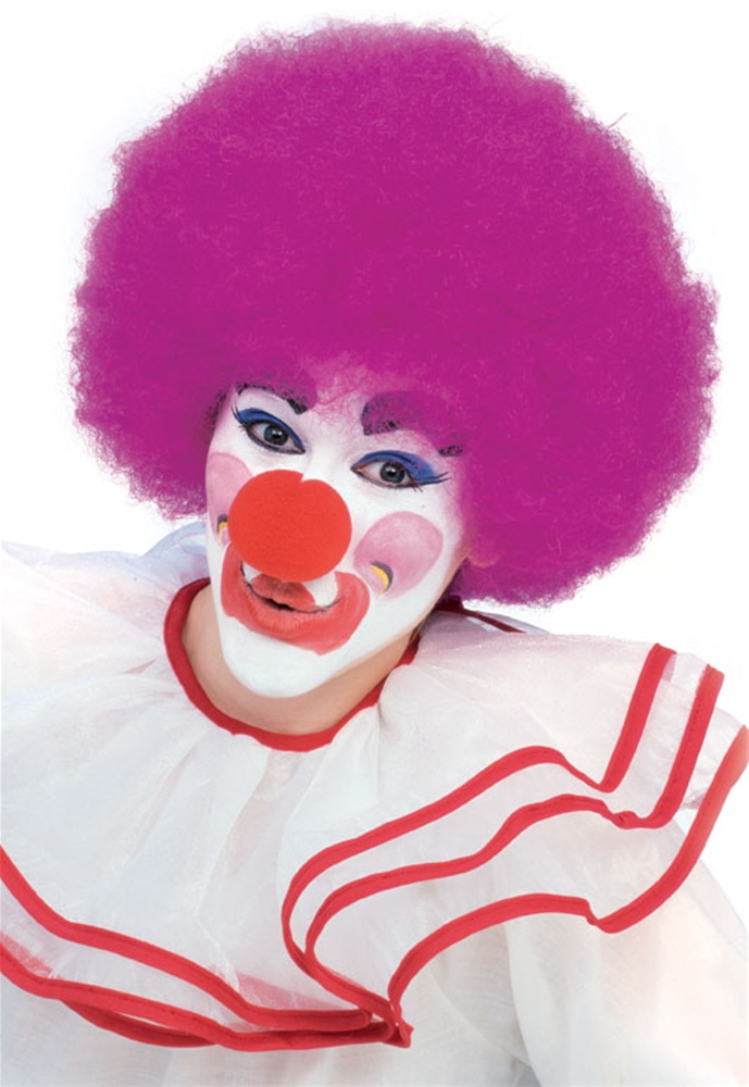 Purple Clown Wig