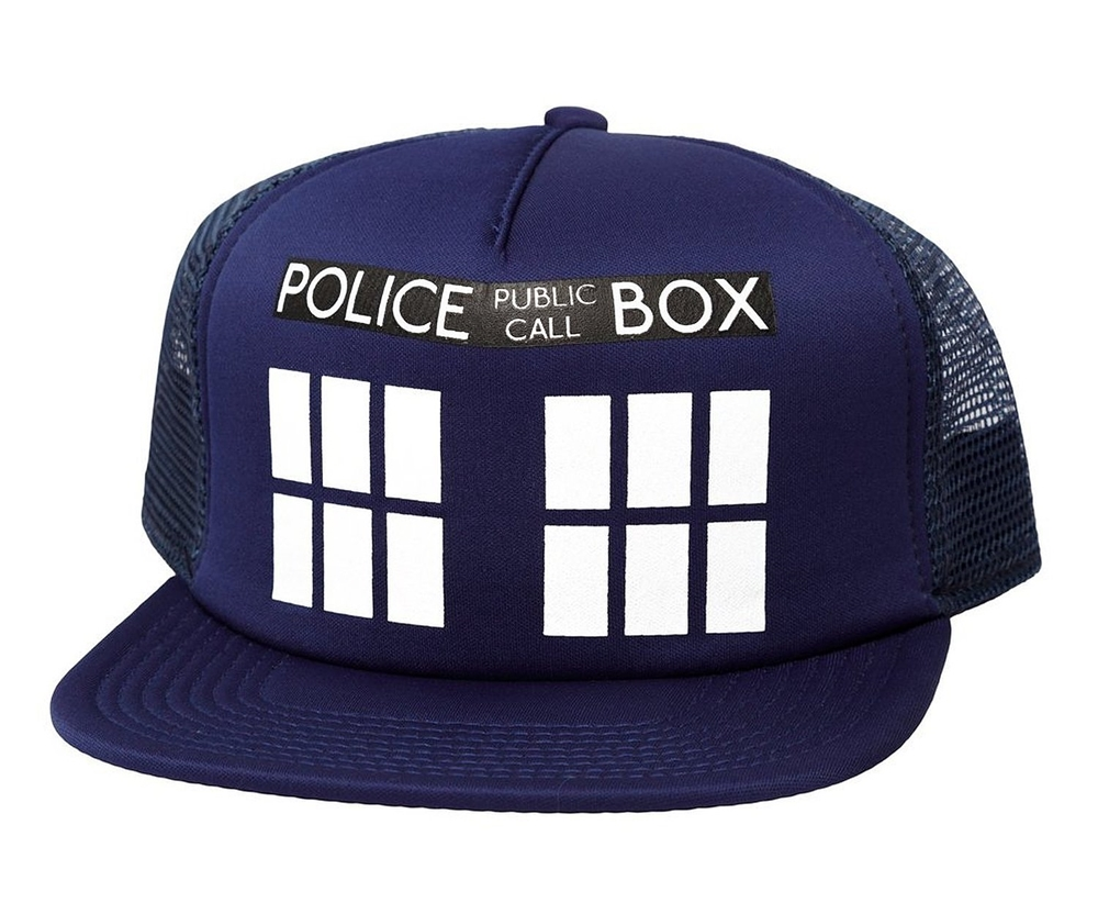 Doctor Who Tardis Trucker Hat