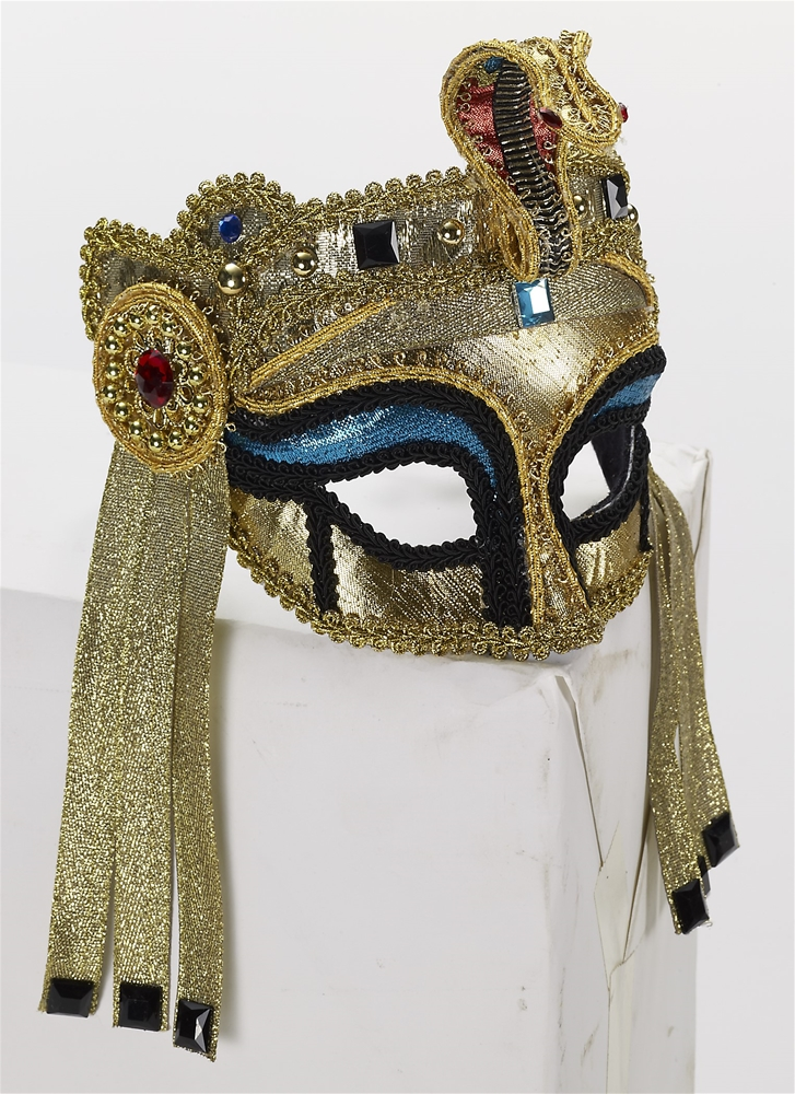 Egyptian Female Deluxe Mask with Comfort Arms