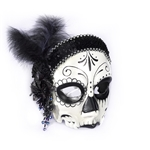 Day-of-the-Dead-Female-Flapper-Mask-with-Comfort-Arms