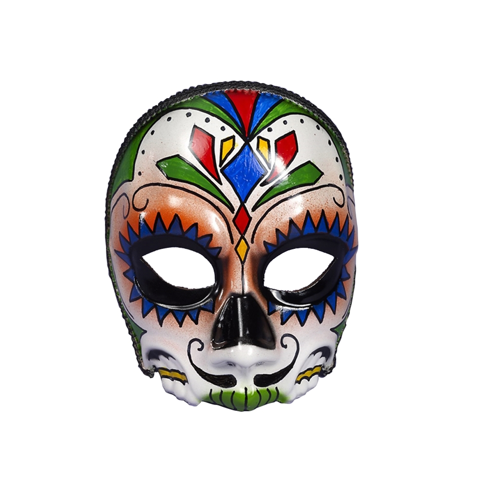 Day of the Dead Male Mask with Comfort Arms - 330478 ...