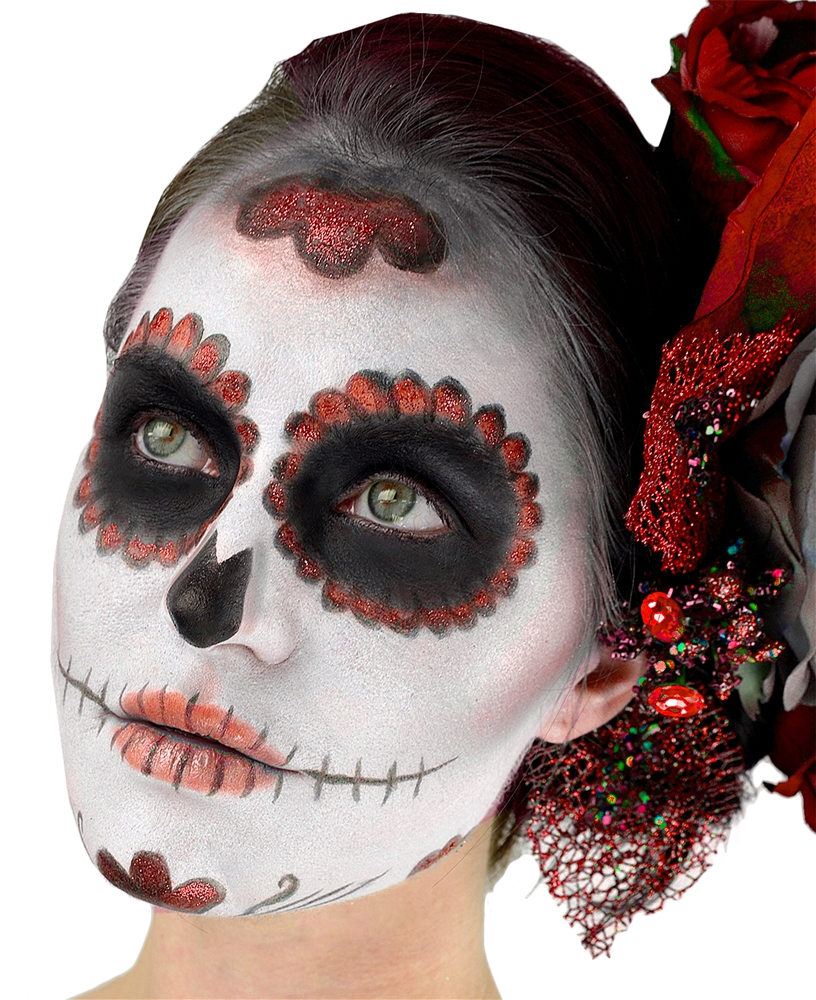 Day of the Dead Female Makeup Kit