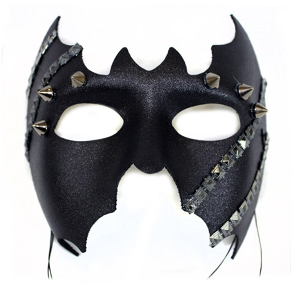 Riveted & Studded Bat Mask