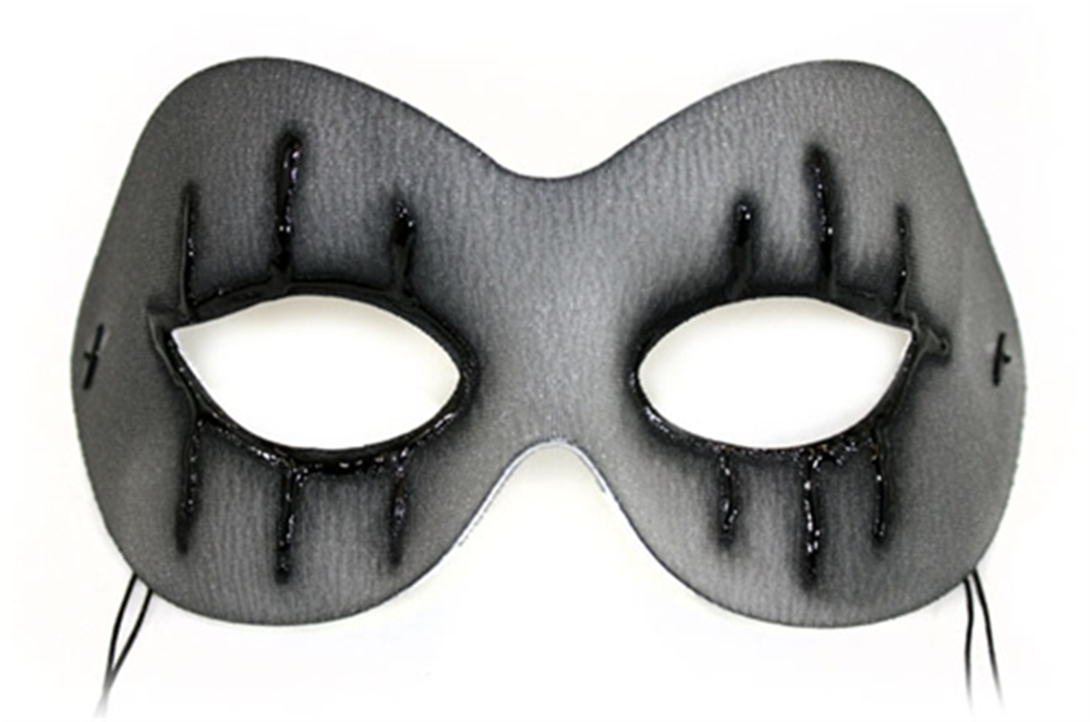 Grey Bewitched Gothic Mask