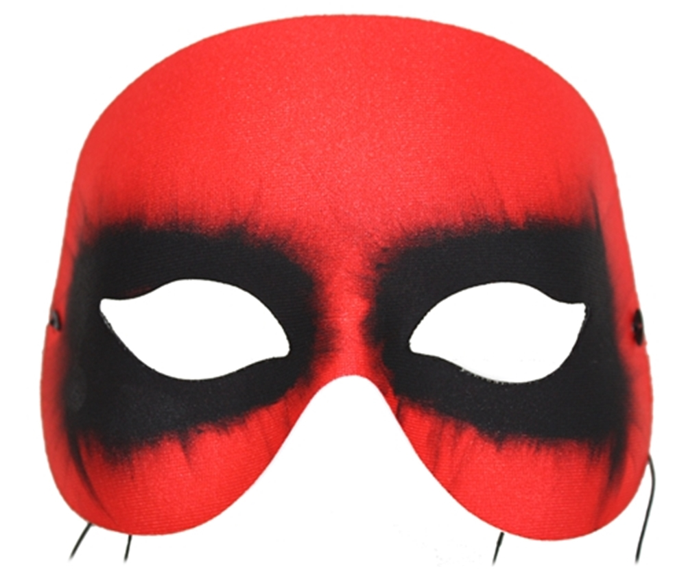 Red Diablo Dark Eyed Mask